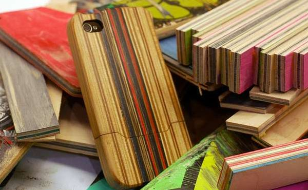 iPhone cases made using recycled materials