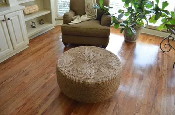 Recycled Old tires_Ottoman