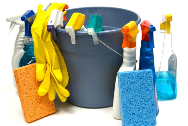 Using organic cleaning products