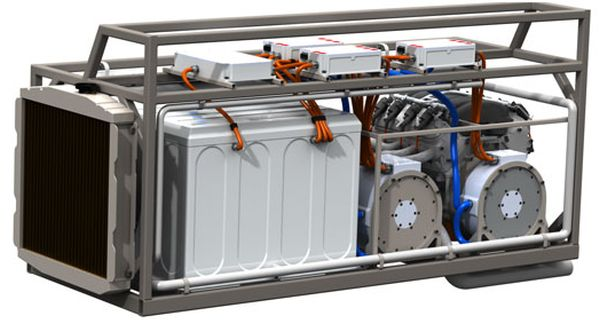 Vantage Power hybrid electric system