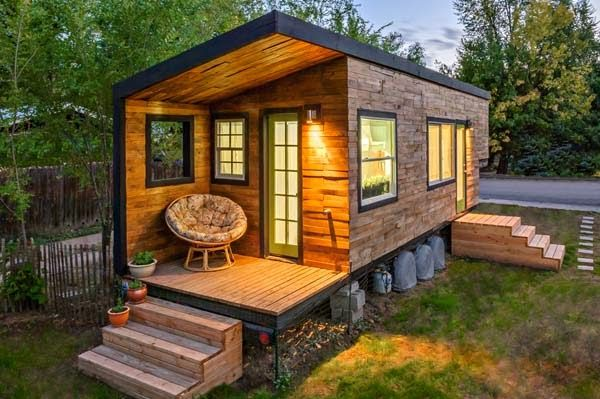 smaller eco-friendly house