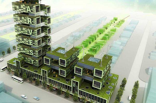 Prospects of green architecture designs in near future