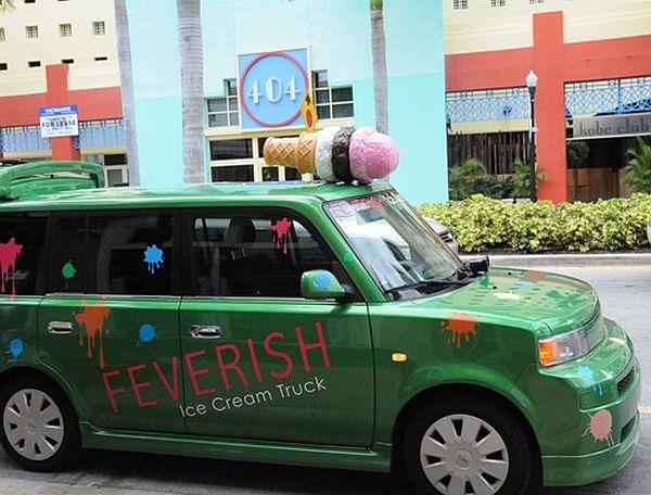 Feverish ice cream truck, Miami