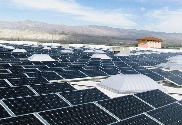 Mountains solar power