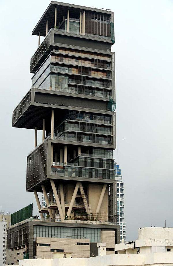 INDIA-LIFESTYLE-ARCHITECTURE-AMBANI