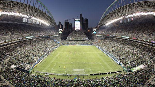 energy efficient Century Link field in Seattle