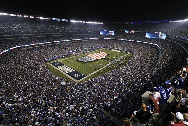 energy efficient Metlife Stadium in USA