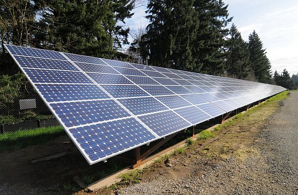 highway solar panel