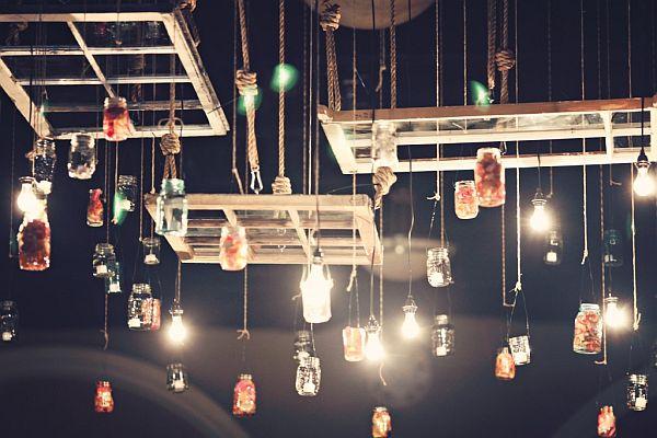 Mason jar Lantern Hangers