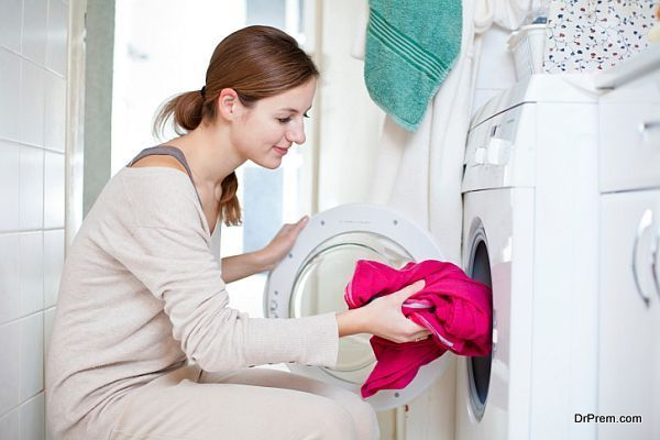 using washing machine