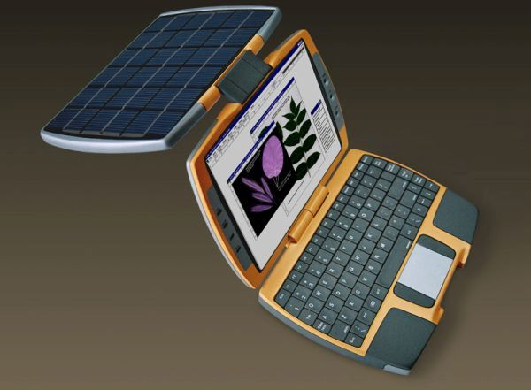 The solar laptop by Nikola Knezevic