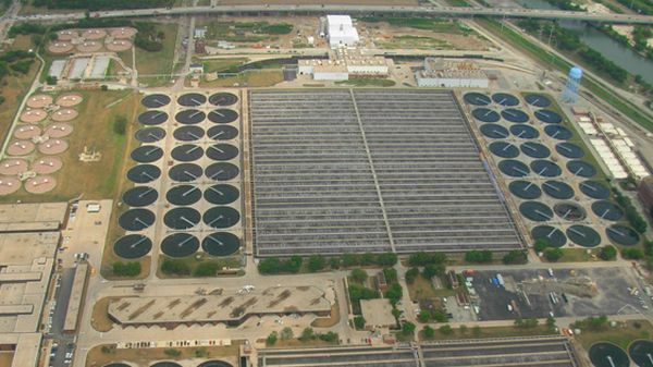 Stickney Water Reclamation Plant, Chicago