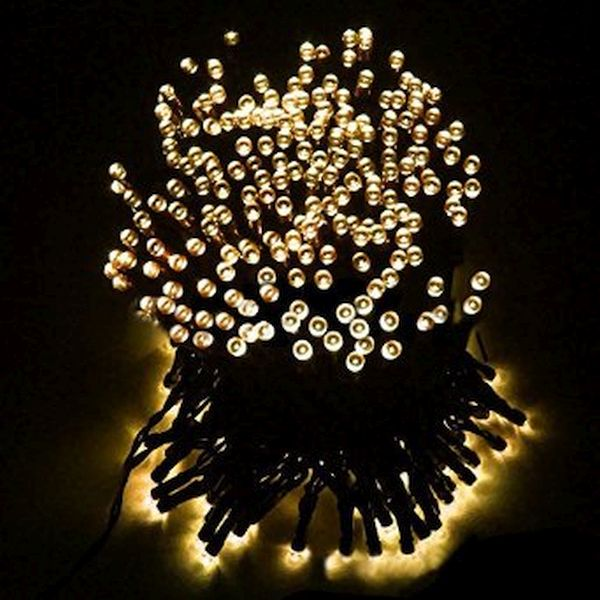 LED powered Christmas tree lights