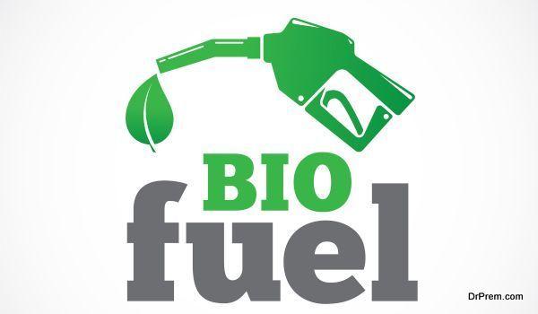 Bio fuel vector symbol icon or logo isolated