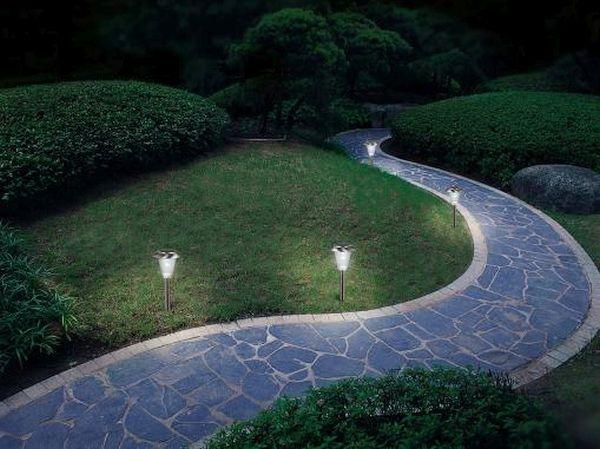 solar powered lights landscaping