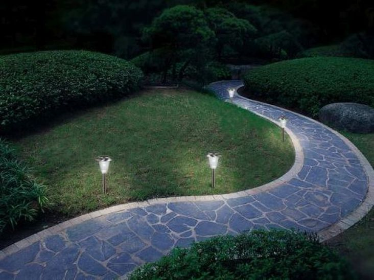 solar powered lights landscaping