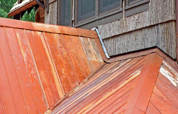 Reclaimed Metal Roof