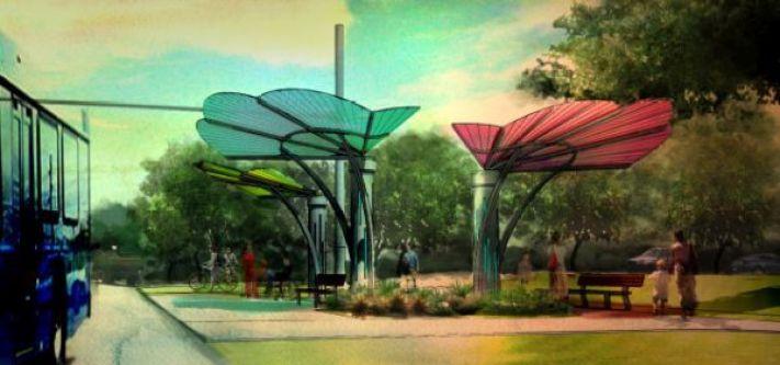 Sara Partridge Bus Stop Design