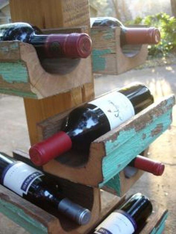 gutter Wine Rack