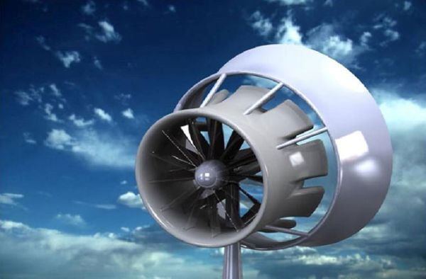 Jet engine technology based wind turbine