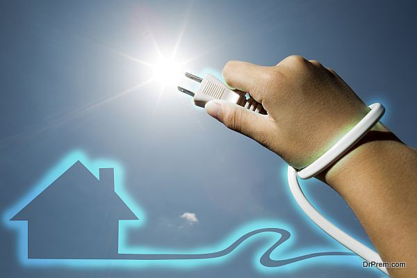 Renewable Energy Solar - Stock Image