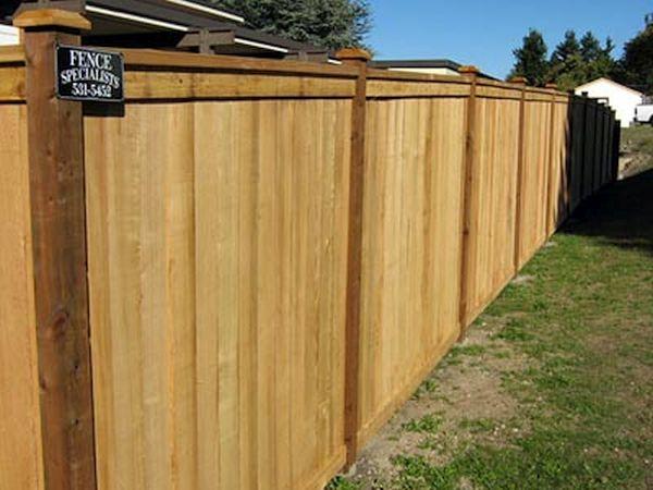 Gated Fence Installation