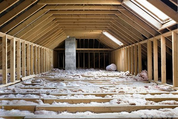 insulation of a home
