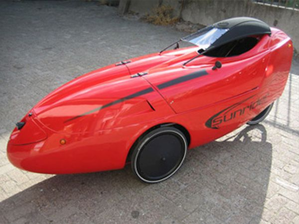 Sunrider velomobile