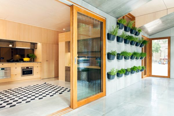 The Carbon positive house