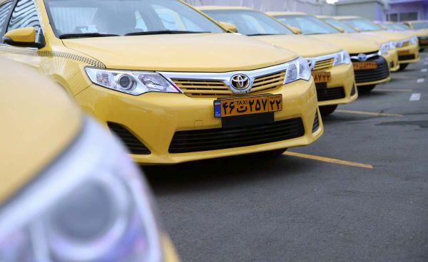 Tehran's hybrid taxi fleet