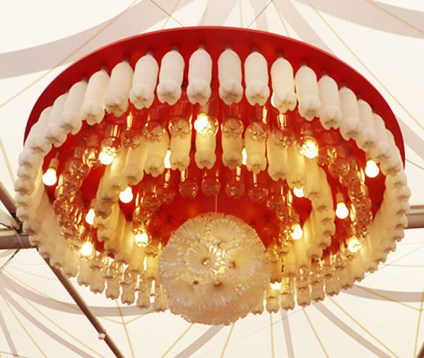 gorgeous-chandelier-made-from-coca-cola-bottles