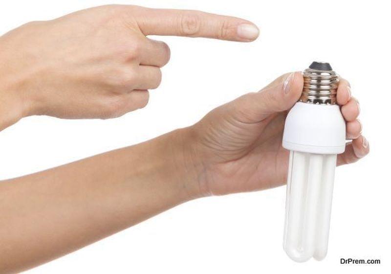 efficient LED or CFL