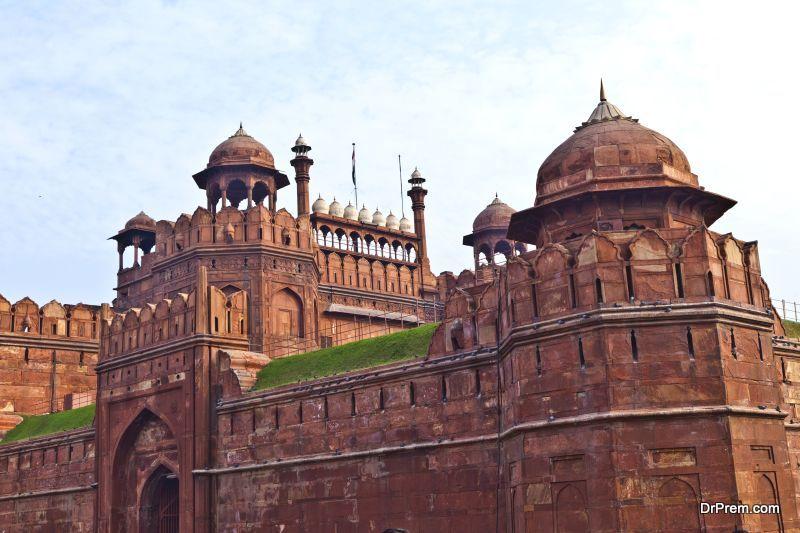 Lal Qila, red fort in Delhi