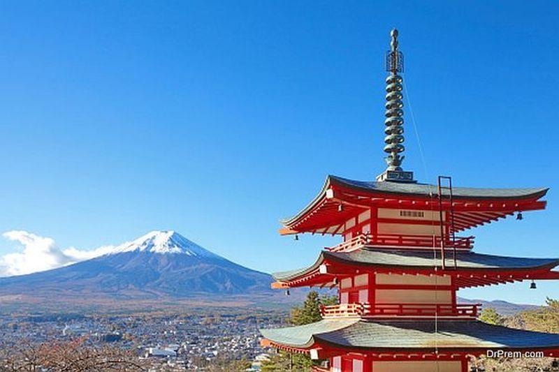 Mount Fujiyama japan