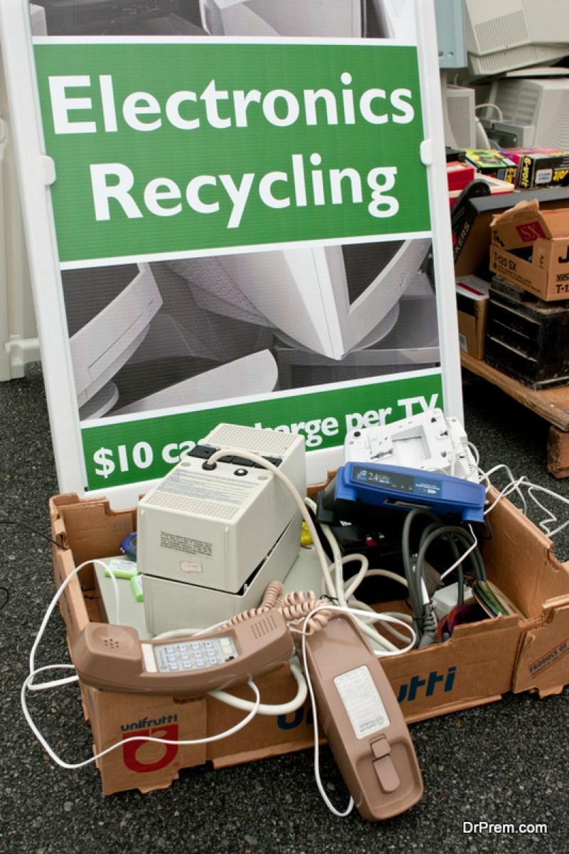 Recycle through a retailer