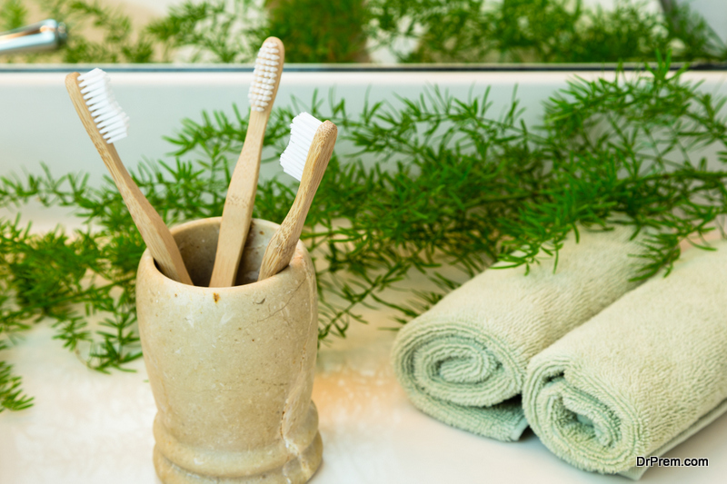 Replace plastic products with bamboo