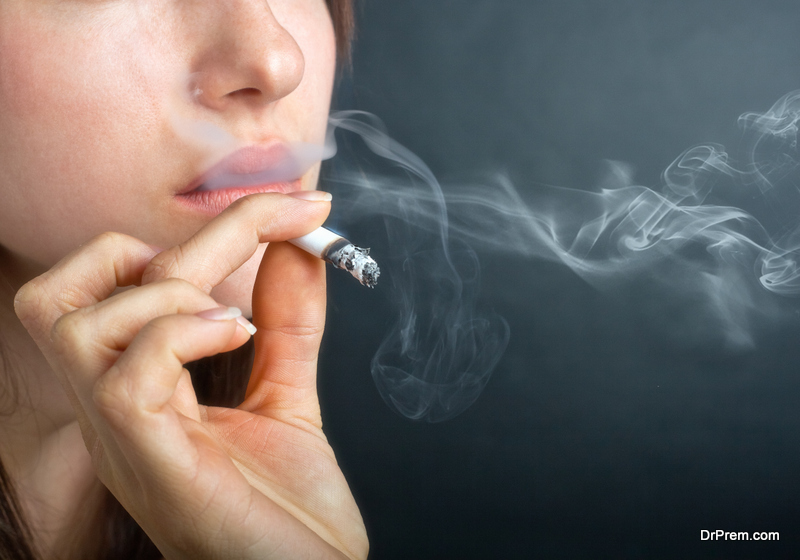device can also neutralize smoke of cigarettes