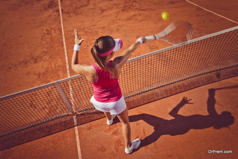 tennis surface