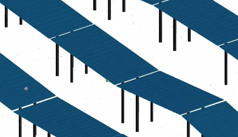 design tool for utility-scale PV solar-parks