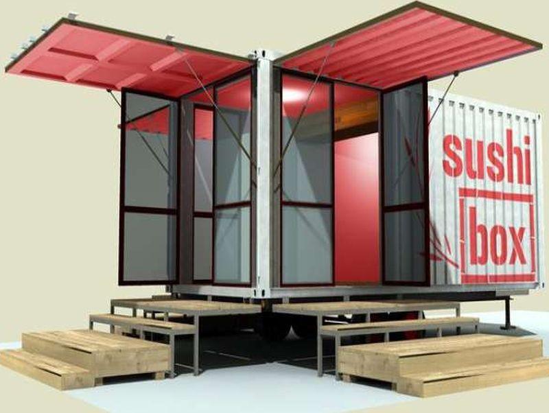 sushi Box mobile restaurant