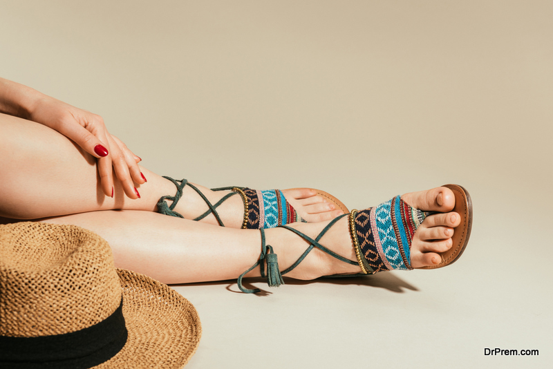 make eco-friendly sandals from recycled materials