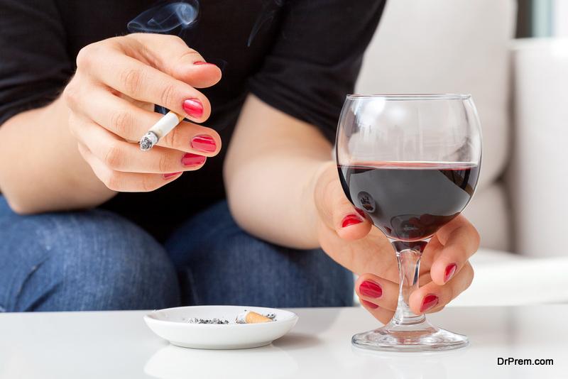 Excessive alcohol consumption