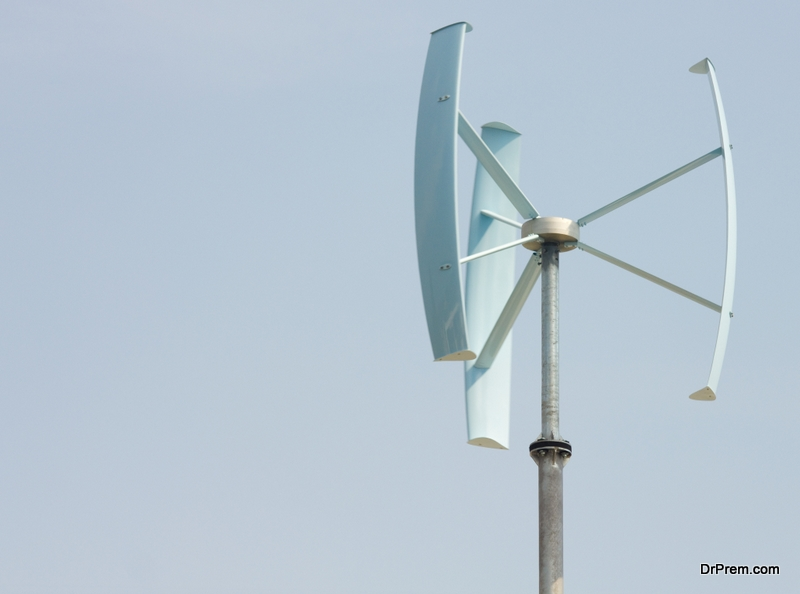 Vertical axis wind turbines