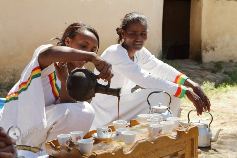 Coffee Farming In Ethiopia