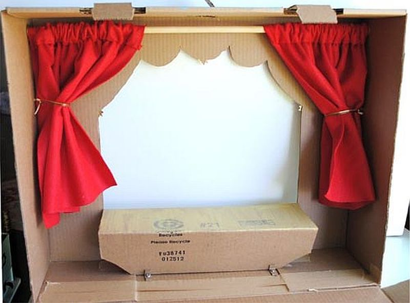 The Cardboard Puppet Box