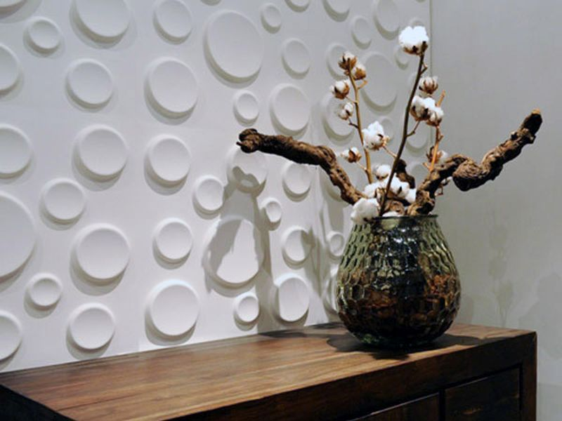 Wallpaper made from sugarcane bagasse