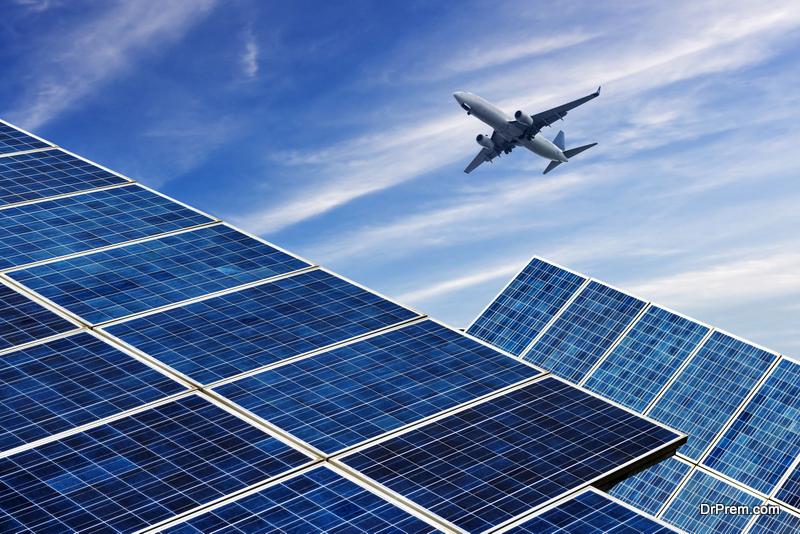 solar-powered aircrafts