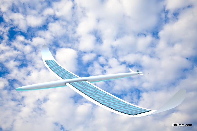 solar-powered aircrafts