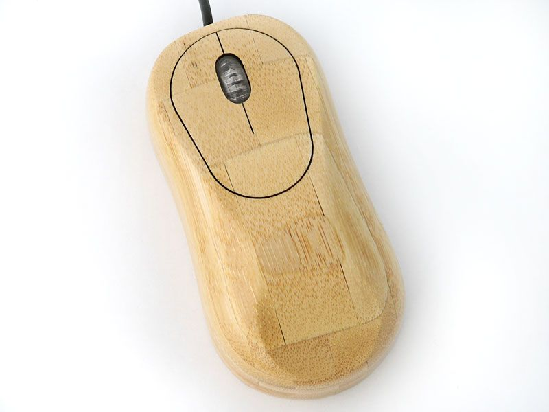 Evergreen Bamboo Computer Mouse