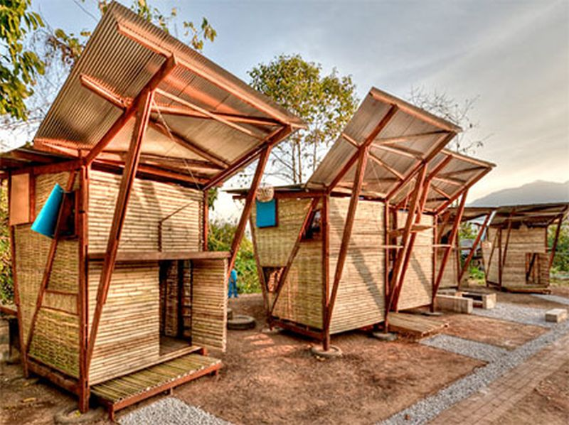 Butterfly Bamboo Homes for Thai Orphans